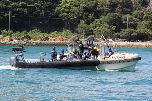 【グリンピース・シーシェパード】反捕鯨団体想定し警備訓練 太地町 YouTube動画>1本 ->画像>22枚